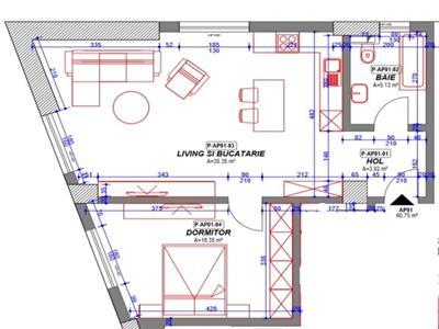 Vanzare apartament 2 camere in bloc nou, zona 9 Mai
