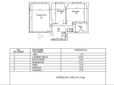Croma Imob - Vanzare apartament 2 camere, in Ploiesti, zona Andrei Muresanu
