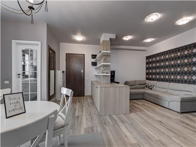 De inchiriat apartament modern 3 camere, 120 mp,  Pipera Greenvista